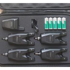 Набор сигнализаторов 4+1 пейджер Feima в кейсе FA 218-4