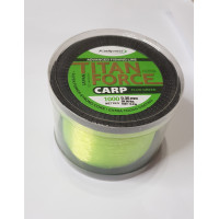 Леска Kalipso Titan Force Carp fluo green1000м 0.40мм