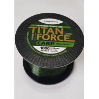 Леска Kalipso Titan Force Carp moss Green1000м 0.28мм