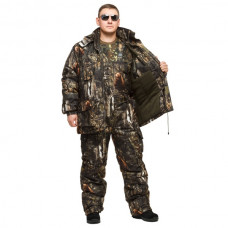 """Костюм зимний -30 °C """"Гризли"""" для рыбалки и охоты - камуфляж Бурый Медведь"""