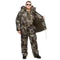 """Костюм зимний -30 °C """"Гризли"""" для рыбалки и охоты - камуфляж Снайпер"""