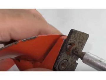 Замена ножей ледобура
