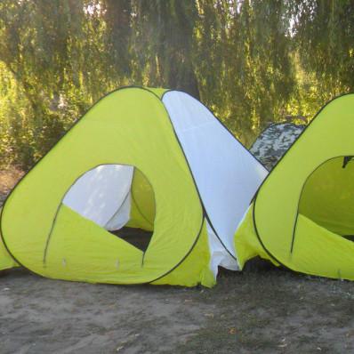 Палатка зимняя для рыбалки Daster 2x2 м (Автомат)