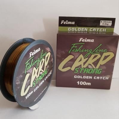 Леска Feima Carp Strong 100 м 0.25 мультиколор