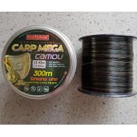 Леска рыболовная BratFishing carp mega camou 300 м 0,4 мм