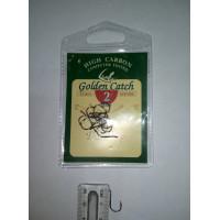 Крючки для рыбалки Golden Catch Deft Trap № 2