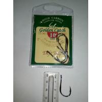 Крючки для рыбалки Golden Catch Deft Trap № 10