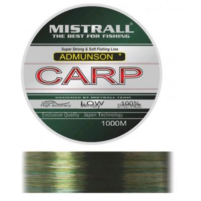 Карповая леска Mistrall Amundson Carp 1000 м 0,3