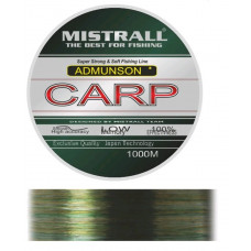 Карповая леска Mistrall Amundson Carp 1000 м 0,35