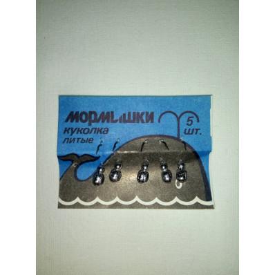 Мормышка  литая колюбакинская КУКОЛКА