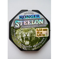 Леска Konger Steelon (флюорокарбон) 30 метров 0.12 мм