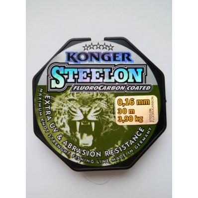 Леска Konger Steelon (флюорокарбон) 30 метров 0.16 мм