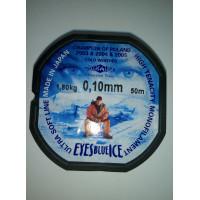 Леска Mikado Eyes Blue Ice 0,10mm (50 м) - 1,8 кг