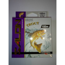 Леска SALON 100 м (0.16 мм 3.1 кг)