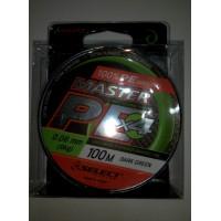Шнур Select Master PE 100 м 0.06 мм 9 кг