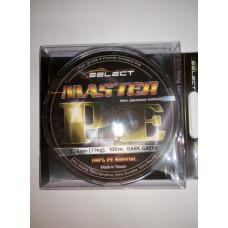Шнур Select Master PE 100 м 0.08 мм 11 кг