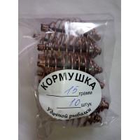 Кормушка-груз шар внутри 15 г (10 шт/уп)