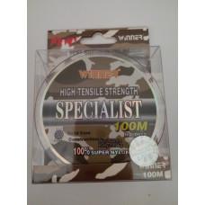 Монофильная леска WINNER SPECIALIST 100 м 0.35 мм 14,6 кг