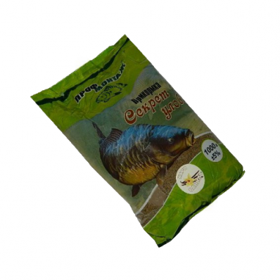 Прикормка Секрет улова (карп-ваниль) 1 кг