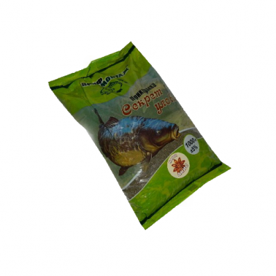 Прикормка Секрет улова (карп-анис)1 кг