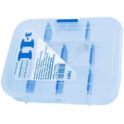Коробка Aquatech 7001 (3-11 ячеек) Акватек