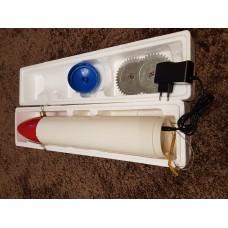 Торпеда Луноход Ракета на аккумуляторе пластик для установки сетей под лед