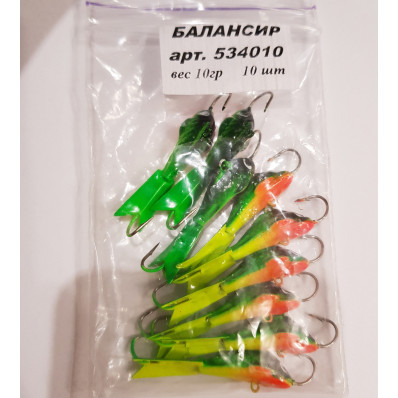 Балансир рыболовный 10 гр (534010) Бл 004