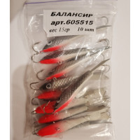Балансир рыболовный 15 гр (605515) Бл 008
