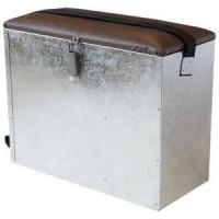 Ящик для зимней рыбалки металлический 20x30x40 см
