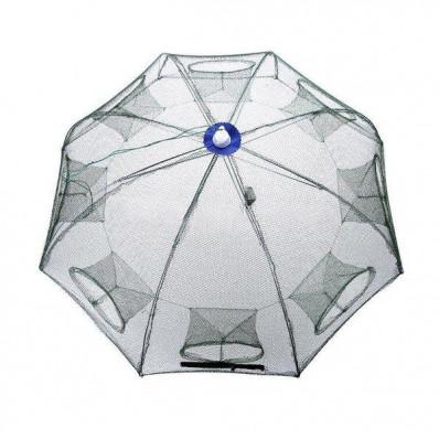 Раколовка зонтик рыболовный 6 входов (90 см)