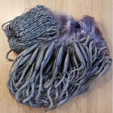 Сеть Анти Финка, трехстенная  (шнуровая) 1,8м * 30м  ячейка 55
