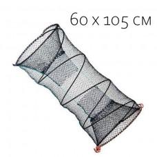 Ятерь рыболовный 60х105 см (кубарь, верша, пружина)