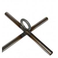 Дуги на паук  2х2 с крестовиной, толщина прута 5 мм
