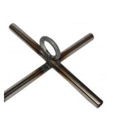 Дуги на паук  1,5 х 1,5 с крестовиной, толщина прута 5 мм